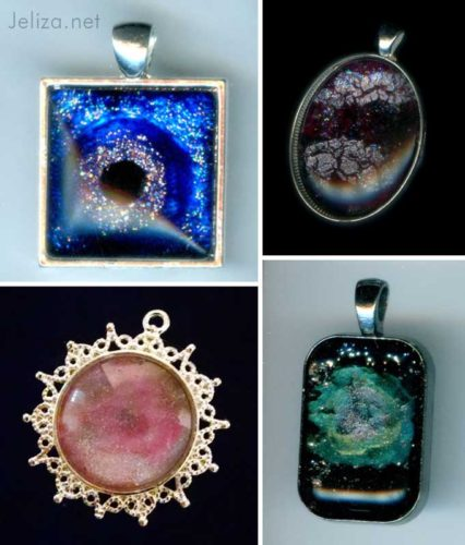 4 pendants
