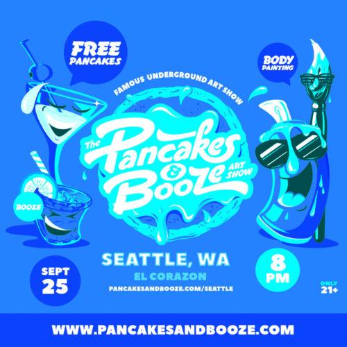 Sept 2021 Pancakes and Booze promo image